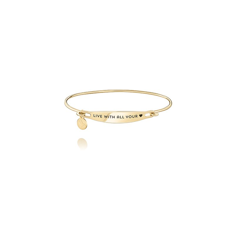 Chamilia Live With All Your Heart ID Bangle