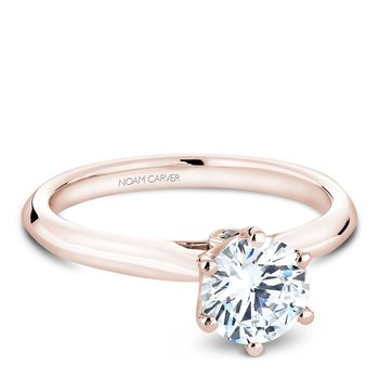 Noam Carver Modern Engagement Ring B143-17RA