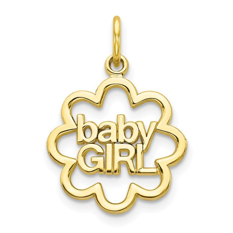 Quality Gold 10k BABY GIRL Charm