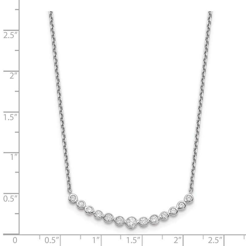 True Origin 14kw True Origin Lab Grown Diamond VS/SI, D E F, Fashion Pendant Necklace