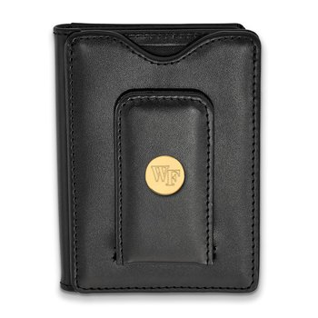 Gold-Plated Sterling Silver Wake Forest University NCAA Wallet