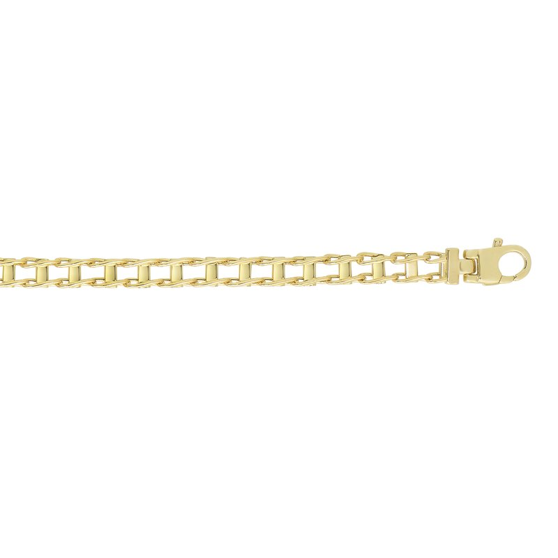 Royal Chain 14K Gold Railroad Link