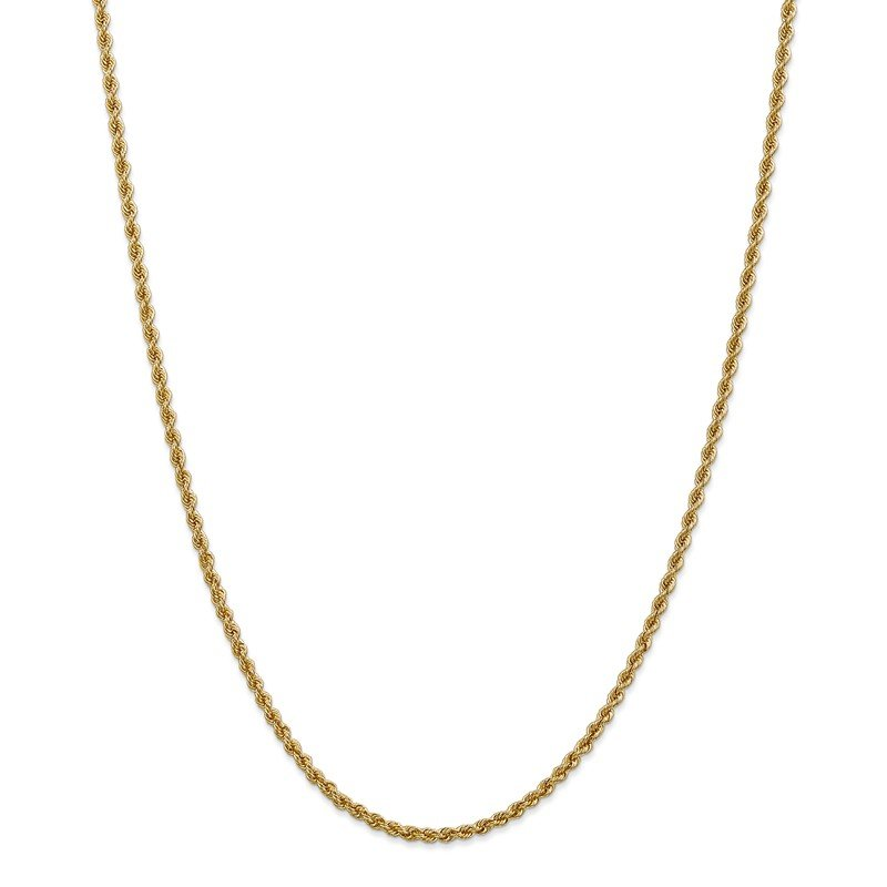 Leslie's Leslie's 14K 2.5mm Solid Regular Rope Chain