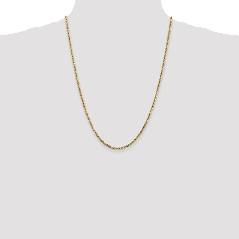 Leslie's Leslie's 14K 2.5mm Solid Rope Chain