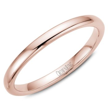 CrownRing Men's Wedding Band TDS14R2