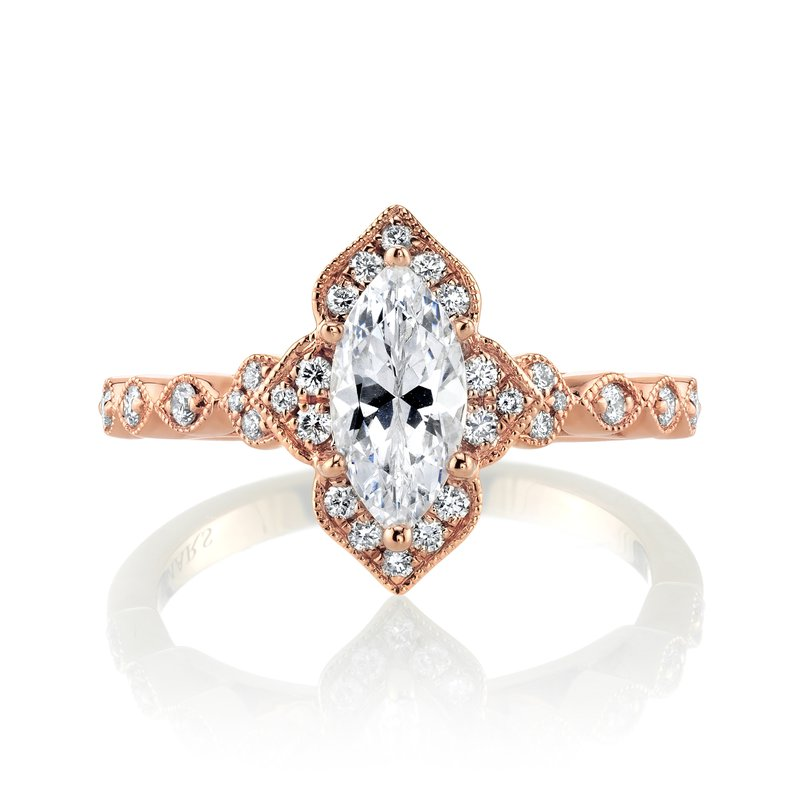 MARS Jewelry MARS 27098 Engagement Ring, 0.23 Ctw.