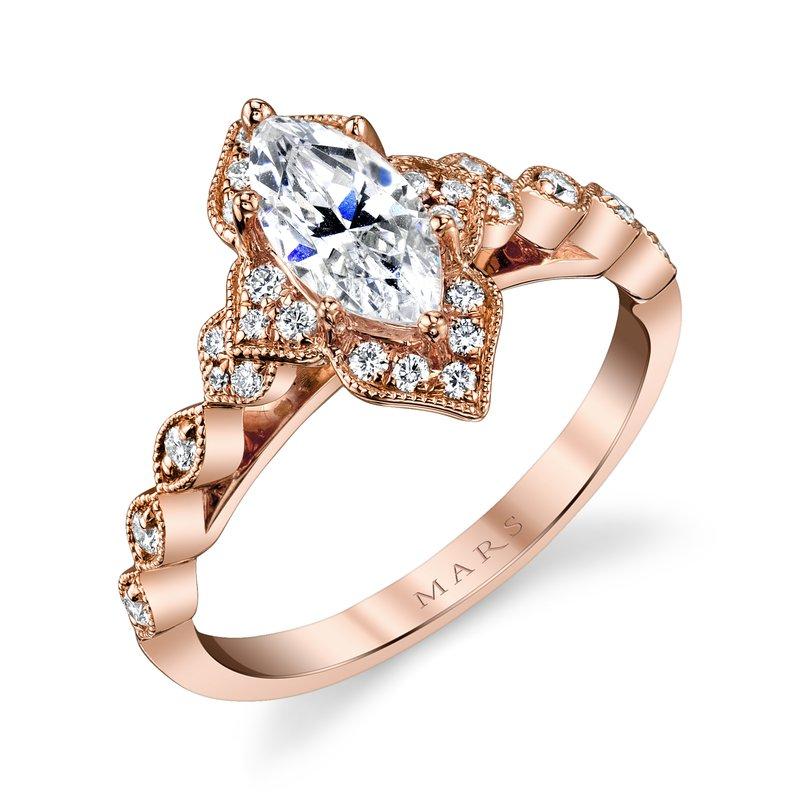 MARS Fine Jewelry: MARS 27098 Engagement Ring, 0 23 Ctw