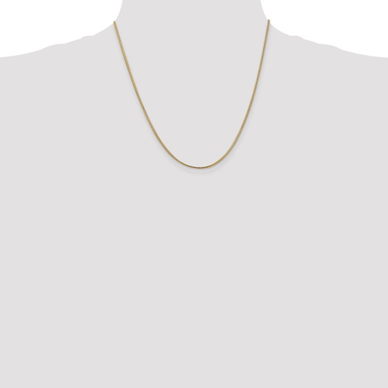 Quality Gold 14k 1mm Franco Chain