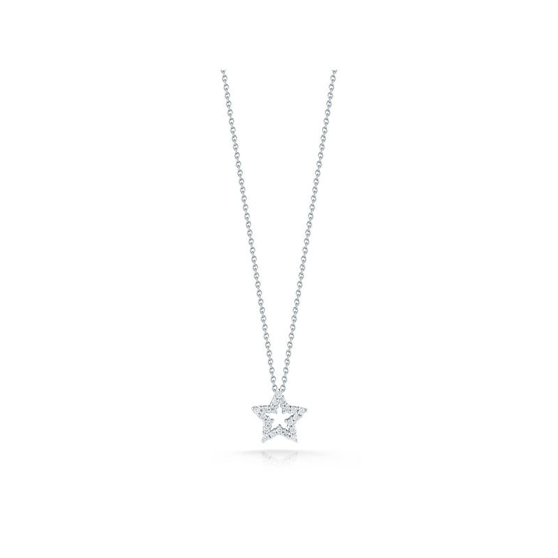 Roberto Coin Star Pendant With Diamonds