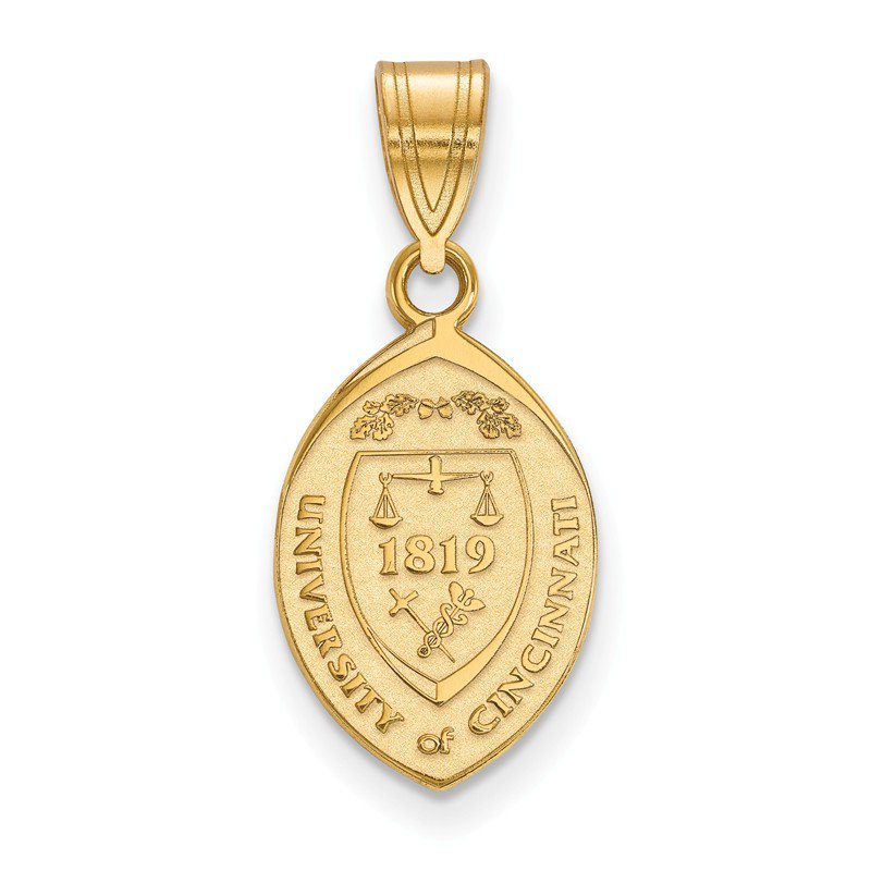 NCAA Gold-Plated Sterling Silver University of Cincinnati NCAA Pendant