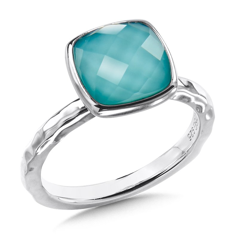 Sterling Silver Turquiose Fusion Ring