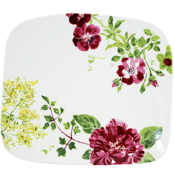 Organic Square Plate, Large