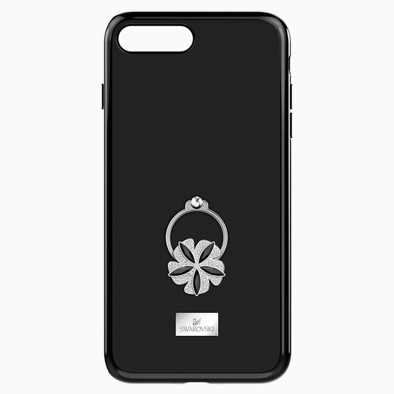 Swarovski Mazy ring Smartphone Case with integrated Bumper, iPhone® 8 Plus, Black