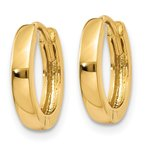 Quality Gold 14k 2.25mm Round Hinged Hoop Earrings