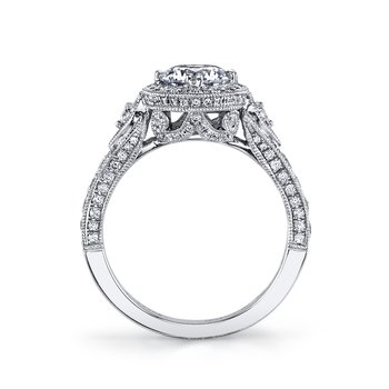 MARS 26170 Diamond Engagement Ring, 0.85 Ctw.