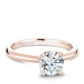 Noam Carver Modern Engagement Ring B027-03RA