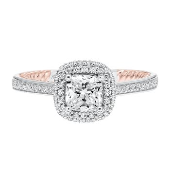 ArtCarved Vita Diamond Engagement Mounting