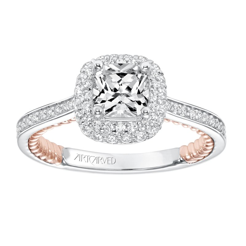 ArtCarved ArtCarved Vita Diamond Engagement Mounting