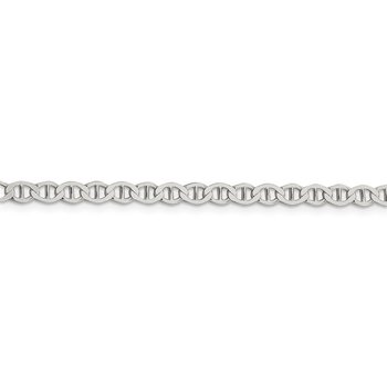 Sterling Silver 4mm Flat Anchor Chain