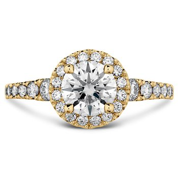 0.55 ctw. Transcend Premier HOF Halo Engagement Ring