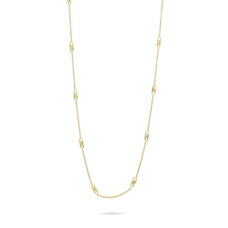Marco Bicego Marco Bicego® Lucia Collection 18K Yellow Gold Long Link Necklace