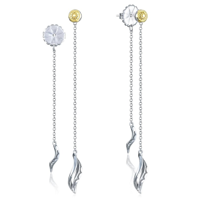 Tacori Fashion Double Petite Wavelet Thread Earrings