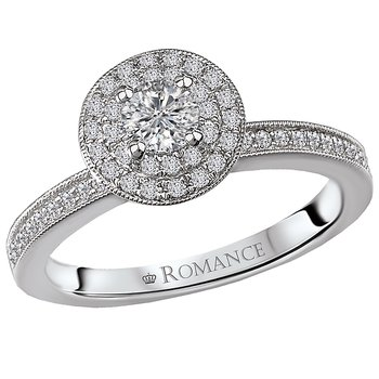Halo Diamond Ring