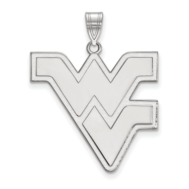 NCAA Sterling Silver West Virginia University NCAA Pendant