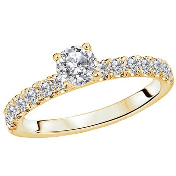 Diamond Soitaire Engagement Ring