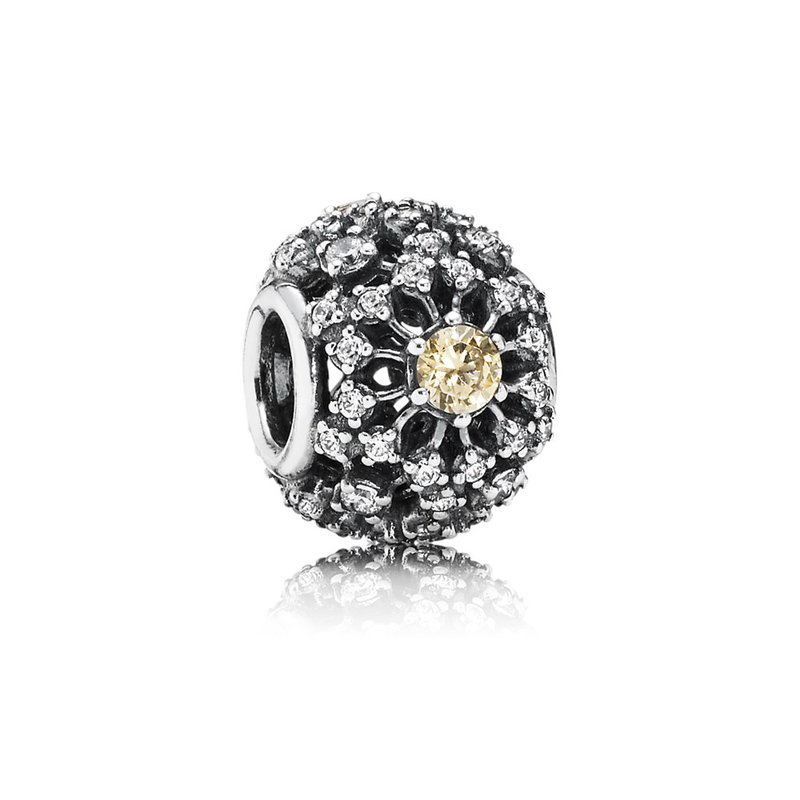35edf6676 Saxon's Diamond Centers: PANDORA Inner Radiance, Golden-Colored ...