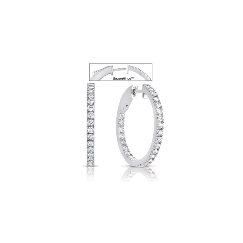 S. Kashi  & Sons 1  Securehinge Hoop Earring