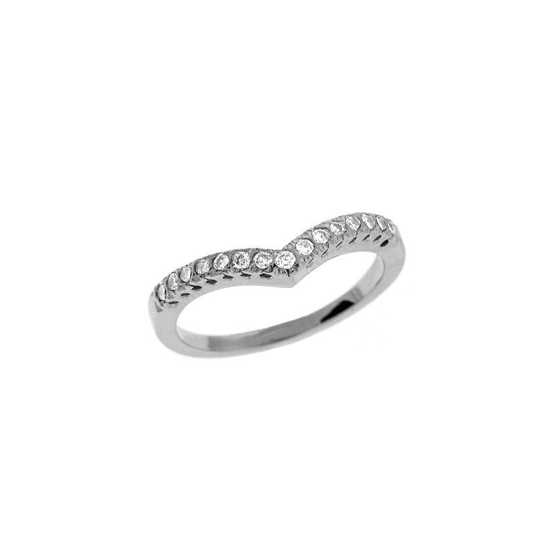 MAZZARESE Bridal Platinum Diamond Band