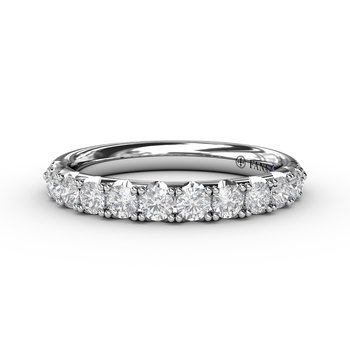 Pave Diamond Anniversary Band