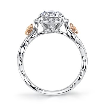 MARS 25952 Diamond Engagement Ring, 0.26 Ctw.