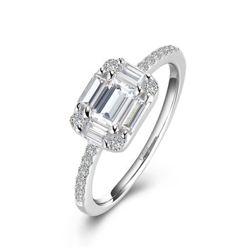 Baguette Engagement Ring