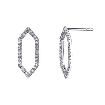 MARS 26841 Fashion Earrings, 0.29 Ctw.