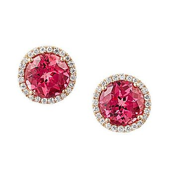 Padparadscha Earrings-CE3829YPD