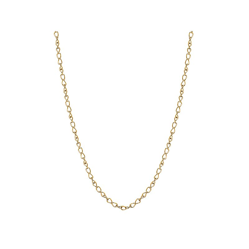 Tesoro 14k Yellow Gold Chain