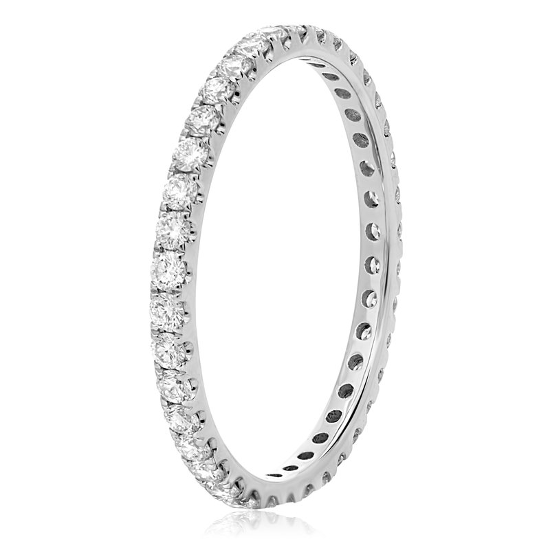 Roman & Jules Round Diamond Eternity Band