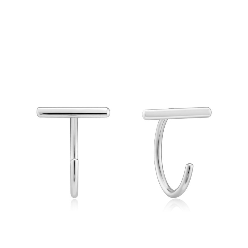 Ania Haie T-Bar Twist Earrings