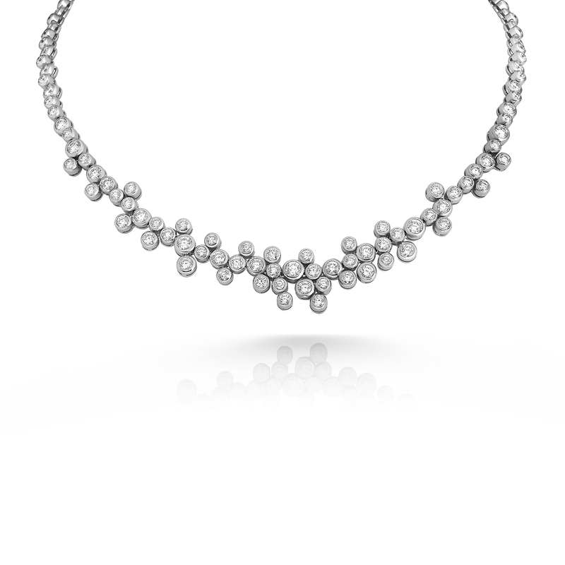 Roberto Coin Cento Frizzante Bubble Necklace