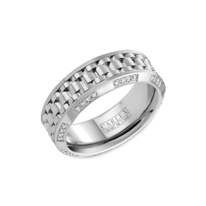 Carlex Carlex Generation 3 Mens Ring CX3-0011WWW