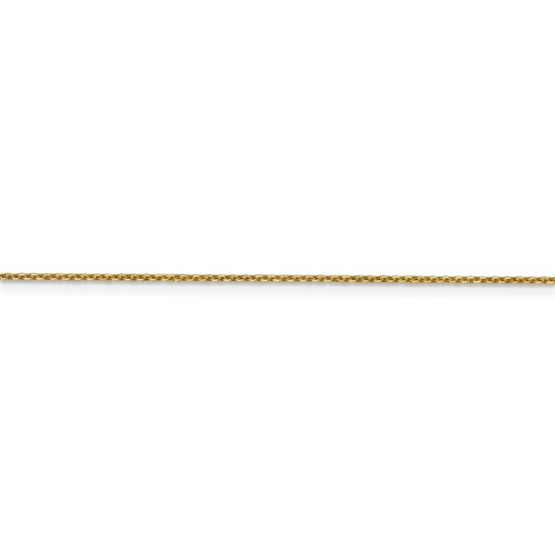 Quality Gold 14k .95mm D/C Cable Chain