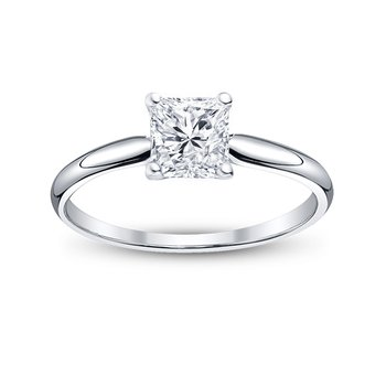 The Princess Solitaire Ring