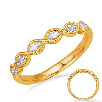 Yellow Gold Diamond Fashion Ring