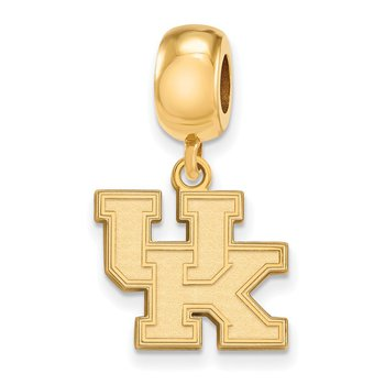 Gold-Plated Sterling Silver University of Kentucky NCAA Bead