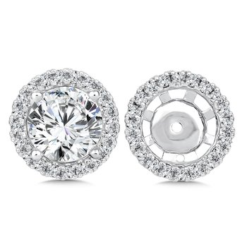 Diamond Earing Jacket ( .44 tw )