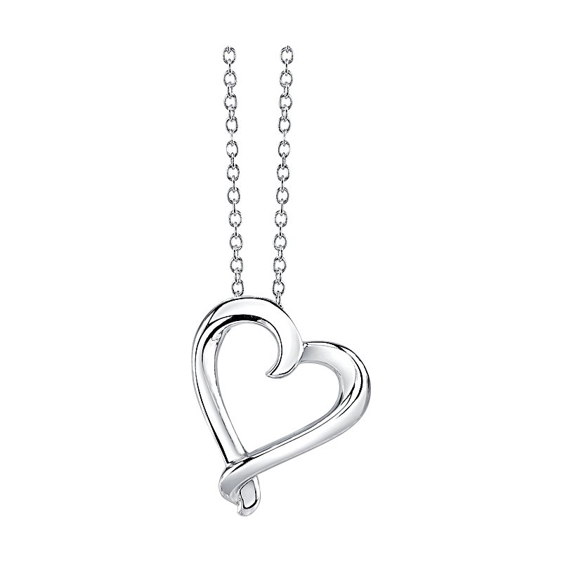 Kissing Hearts Collection Pendant