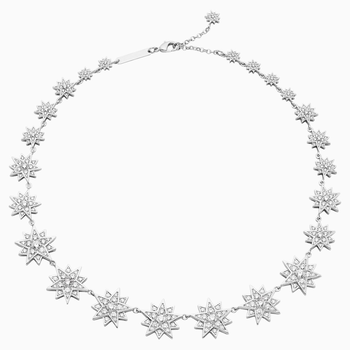 Penélope Cruz Moonsun Necklace, Limited Edition, White, Rhodium plated