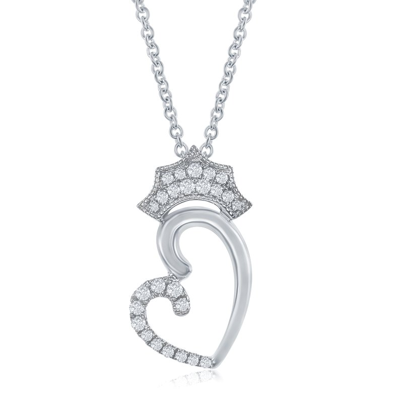 Veer The Queen of Hearts Crown Necklace